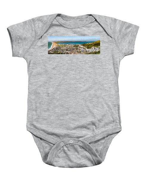 Portland And Chesil Beach Baby Onesie