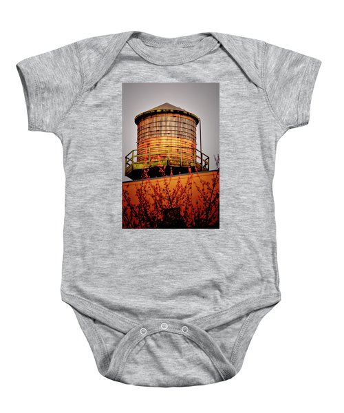 Portland Water Tower IIi Baby Onesie