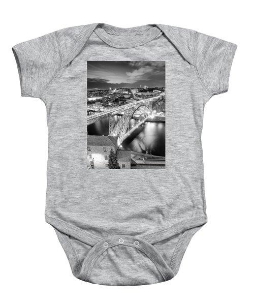 Porto Sao Luis I Bridge Baby Onesie