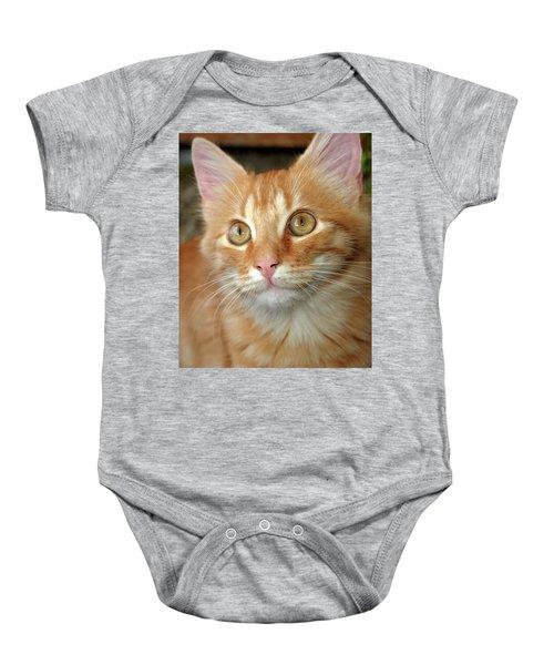 Portrait Of A Cat Baby Onesie