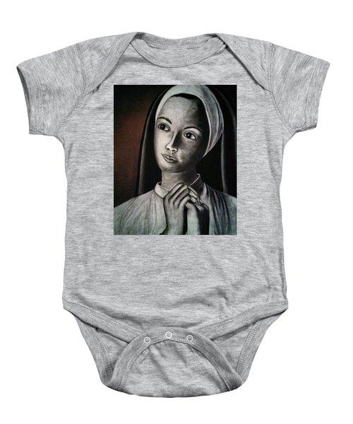 Portrait Of A Nun Baby Onesie