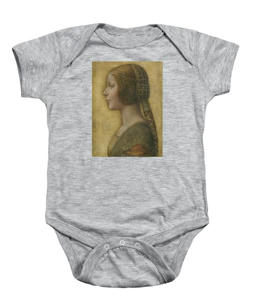 Portrait Of A Young Fiancee Baby Onesie