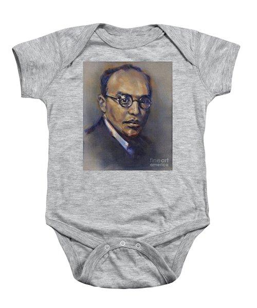 Portrait Of Kurt Weill Baby Onesie