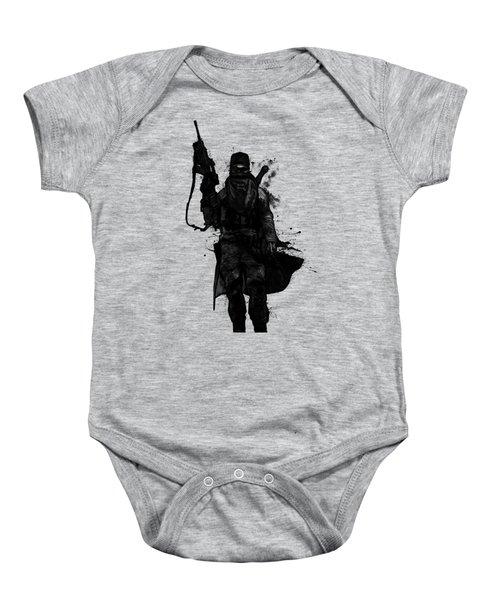 Post Apocalyptic Warrior Baby Onesie