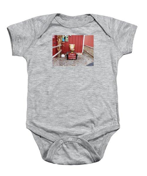 Potty Art Baby Onesie