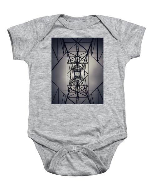 Power Above Baby Onesie