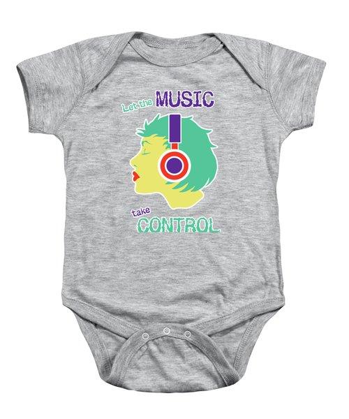Power Of Music Baby Onesie