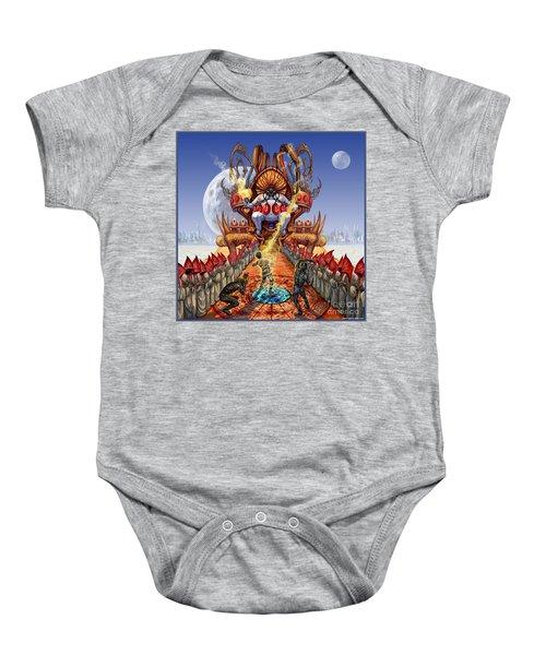 Powerless To Power Baby Onesie