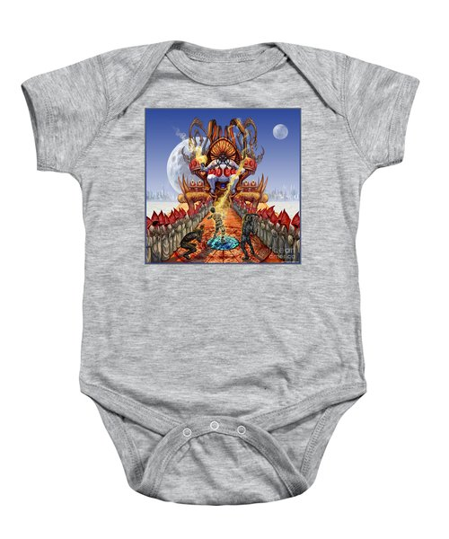 Powerless To Power Baby Onesie