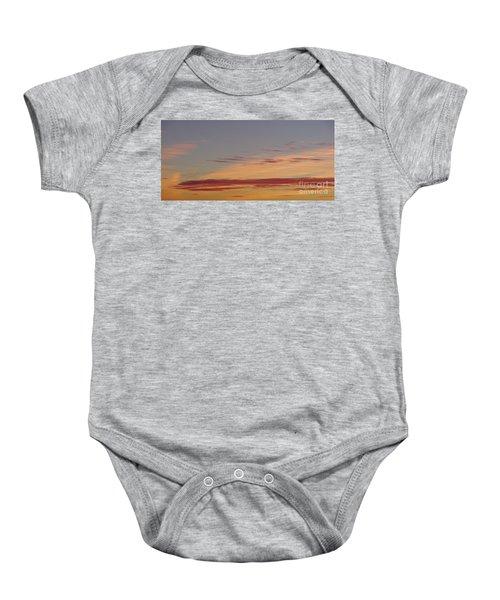 Prairie Sunset 2 Baby Onesie