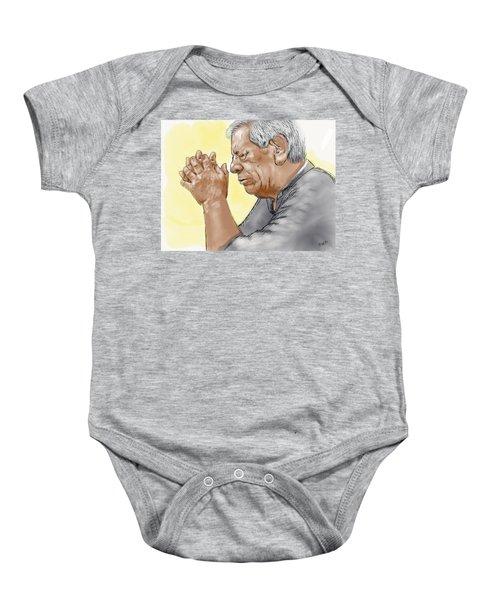 Prayer Of A Righteous Man Baby Onesie