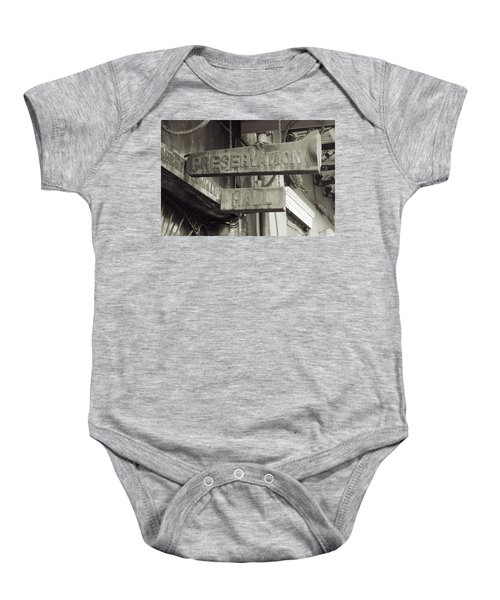 Preservation Hall, French Quarter, New Orleans, Louisiana Baby Onesie