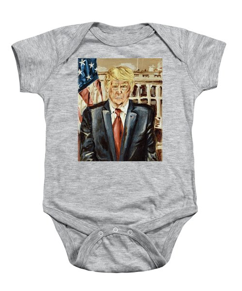 President Donald Trump Baby Onesie