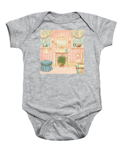 Pretty Bathrooms IIi Baby Onesie