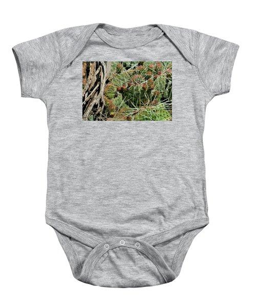 Prickly Pear Revival Baby Onesie