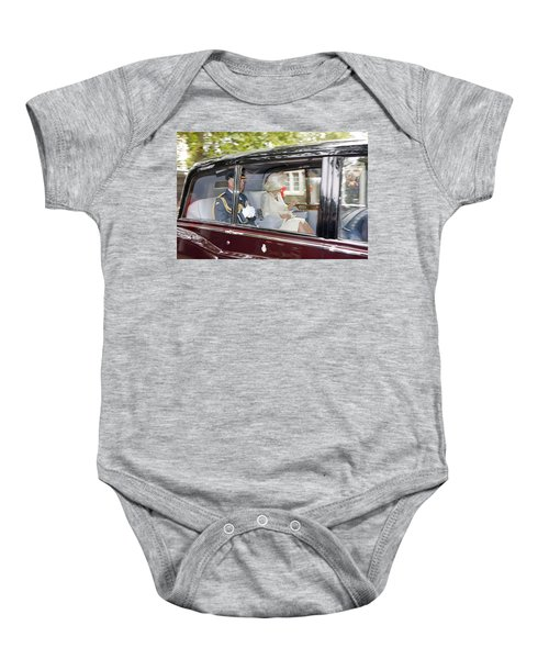 Prince Charles And Camilla Baby Onesie