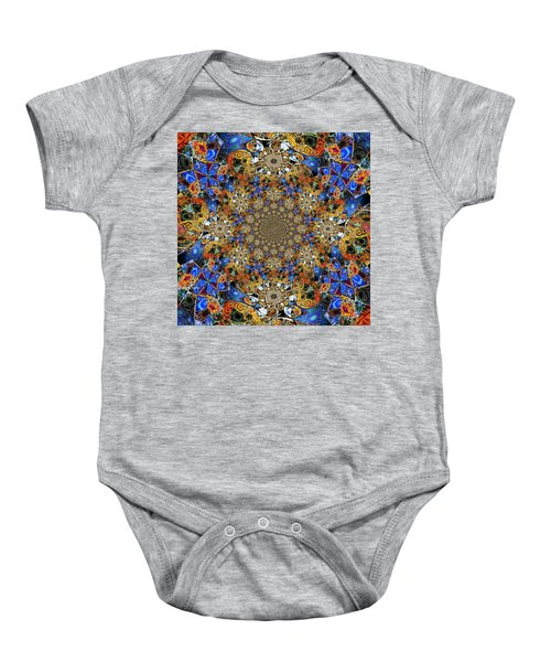 Prismatic Glasswork Baby Onesie by Nick Heap