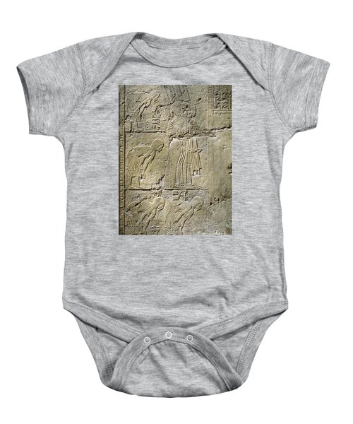 Private Tombs -painting West Wall Tomb Of Ramose T55 - Stock Image - Fine Art Print - Thebes Baby Onesie