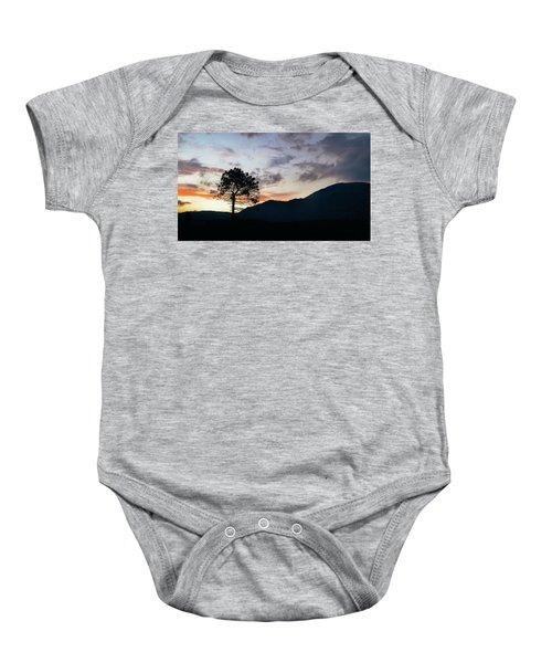 Provence, France Sunset Baby Onesie
