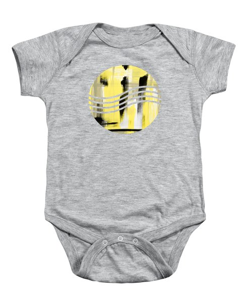Pure Spirit Abstract Baby Onesie by Christina Rollo