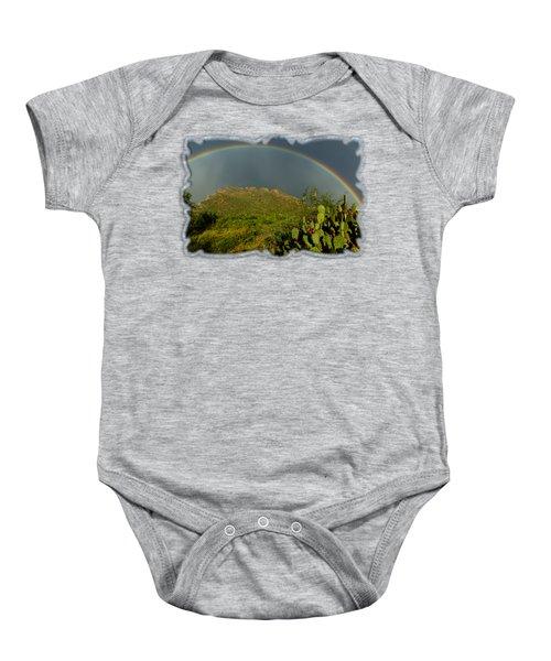 Pusch Ridge Rainbow H38 Baby Onesie