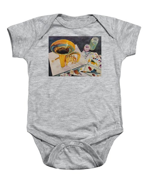 Pygmalion Joins The Band Baby Onesie