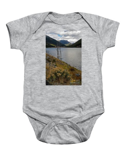 Quake Lake Baby Onesie