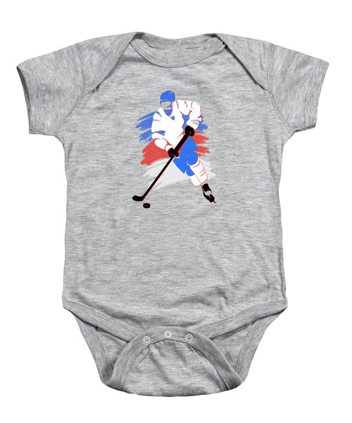 Quebec Nordiques Player Shirt Baby Onesie