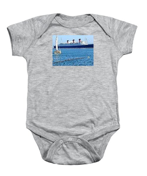 Queen Mary Baby Onesie by James Knecht