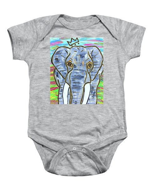 Queen Of The Jungle Baby Onesie