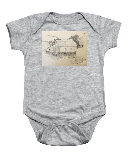 Quiet Barn Baby Onesie