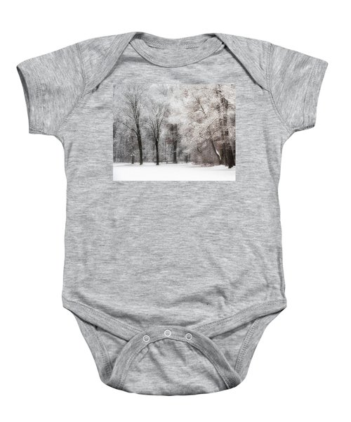 Quiet Winter  Baby Onesie