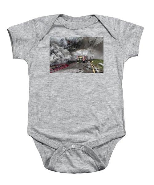 Raging Inferno Baby Onesie