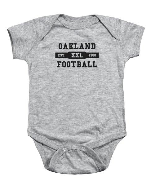 Raiders Retro Shirt Baby Onesie