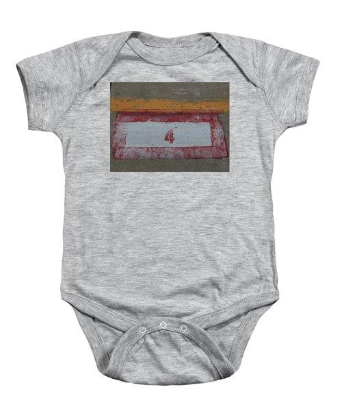 Railroad Art Baby Onesie