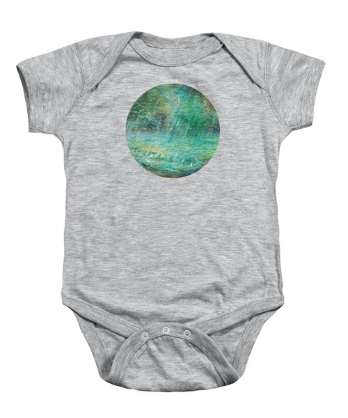 Rain On The Pond Baby Onesie