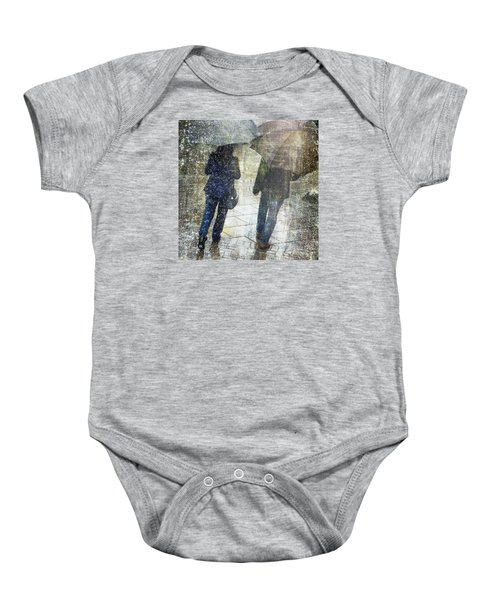 Rain Through The Fountain Baby Onesie