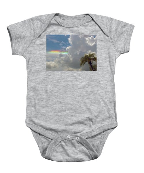 Rainbow To Nowhere Baby Onesie