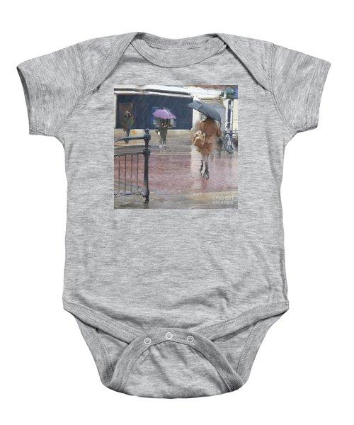 Raining All Around Baby Onesie