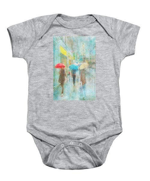 Rainy In Paris 5 Baby Onesie