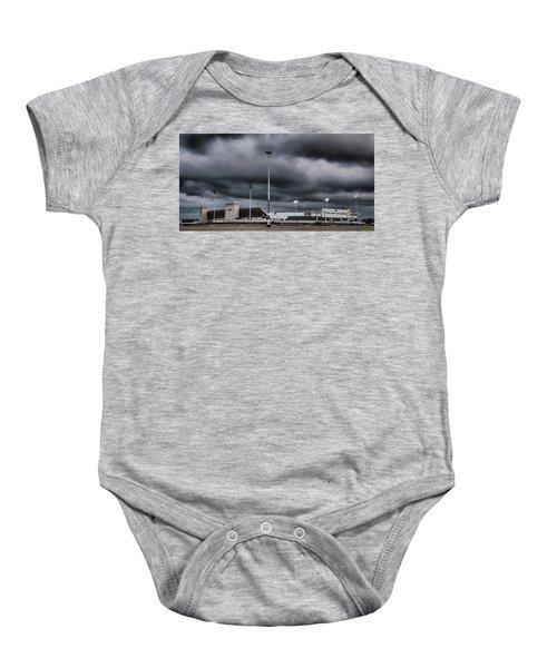 Ralph Wilson Stadium 5803 Baby Onesie