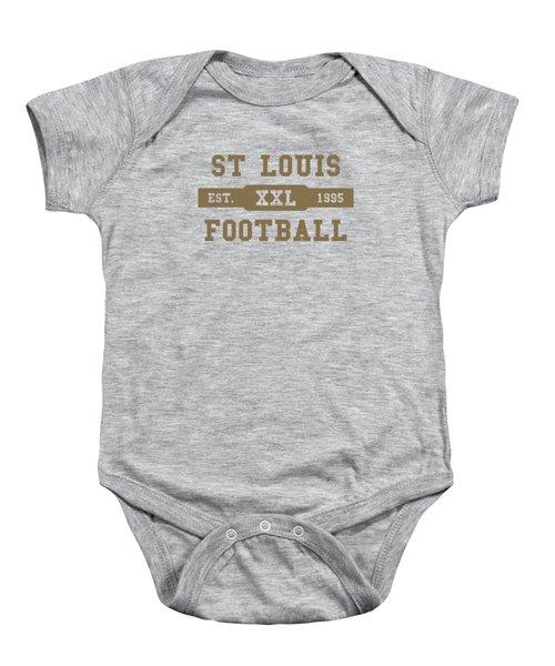 Rams Retro Shirt Baby Onesie
