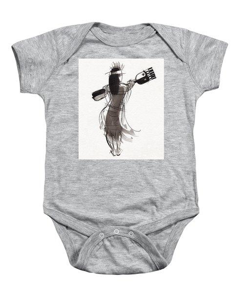 Rapa Nui Dancer Baby Onesie