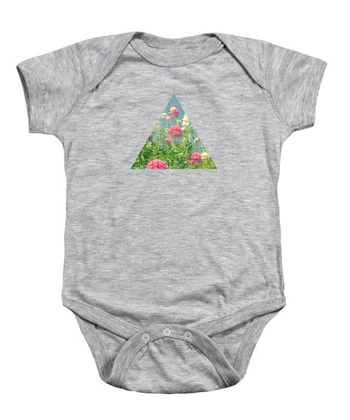 Raspberries And Cream Baby Onesie