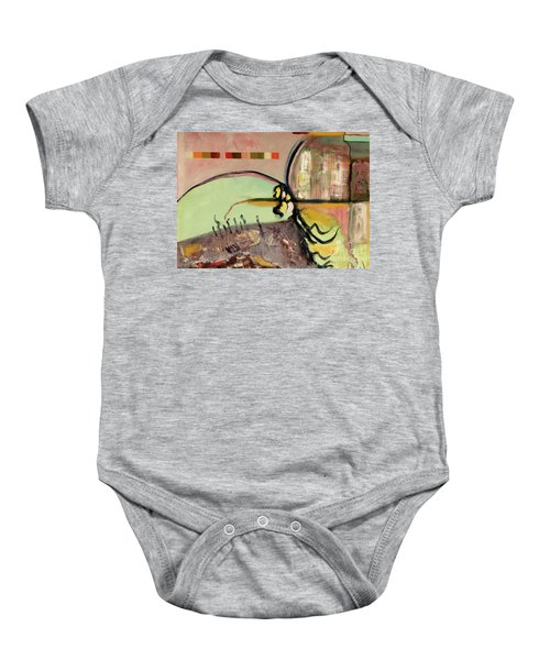 Rational Thought Begins Here Baby Onesie