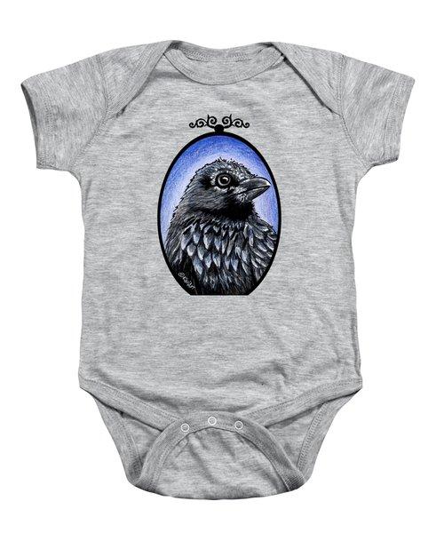 Raven Baby Onesie by Kim Niles