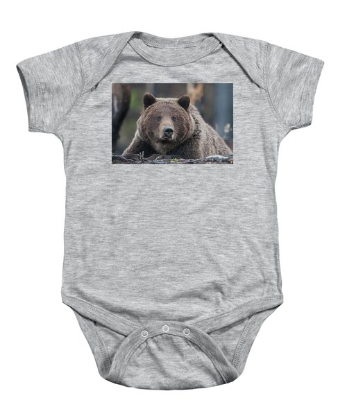 Raw, Rugged And Wild- Grizzly Baby Onesie