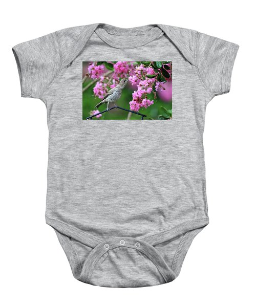 Reach For It Baby Onesie