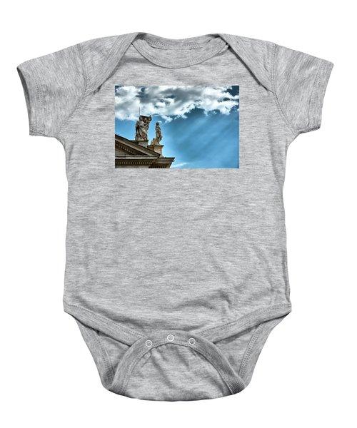 Reaching The Sky Baby Onesie