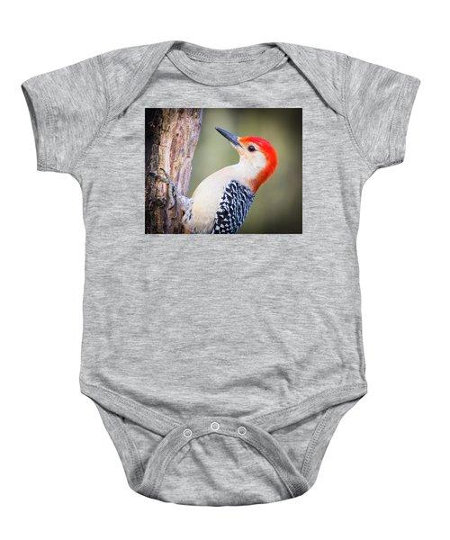 Red-bellied Woodpecker Baby Onesie